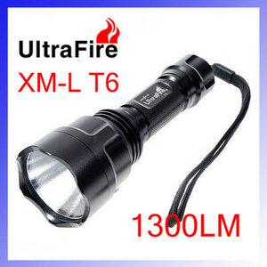 TrustFire 1300Lumens CREE XM-LT6 LED Zaklamp